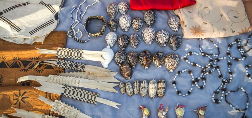 Fijian Island market